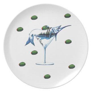 Marlin Martini Plate