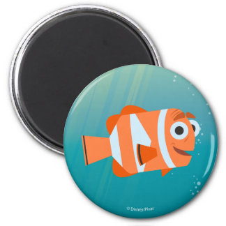 Marlin | Ocean Here We Come! 2 Inch Round Magnet