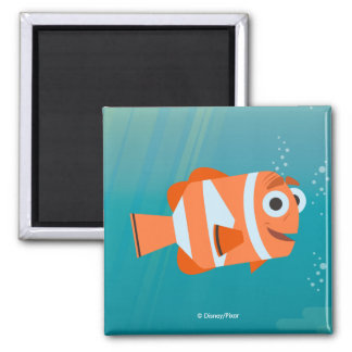 Marlin | Ocean Here We Come! 2 Inch Square Magnet