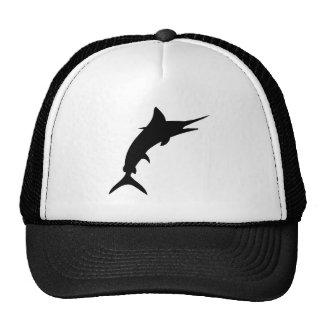 Marlin Silhouette Trucker Hats