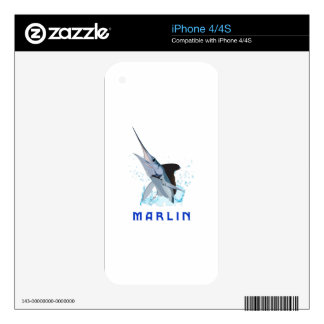 MARLIN DECALS FOR iPhone 4