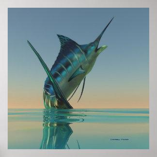 Marlin Sport Fish Print