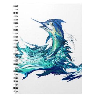 Marlin Sport Fishing Notebook