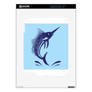 Marlin Sword Fish iPad 2 Decal