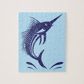 Marlin Sword Fish Puzzle