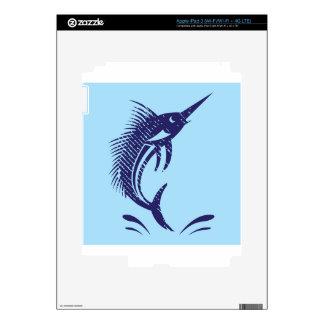 Marlin Sword Fish Skin For iPad 3