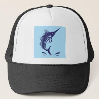Marlin Sword Fish Trucker Hat