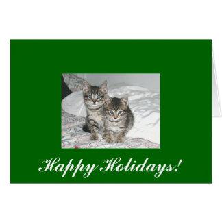Marlon and Monty, Happy Holidays! Card