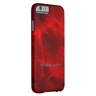 Marlon Red Veined Style iPhone cover