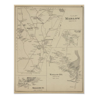 Marlow Cheshire Co Poster
