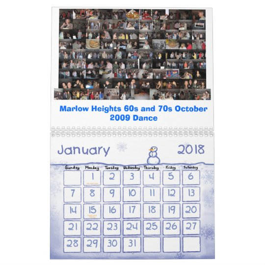 Marlow Heights 60s and 70s 2011 Calendar