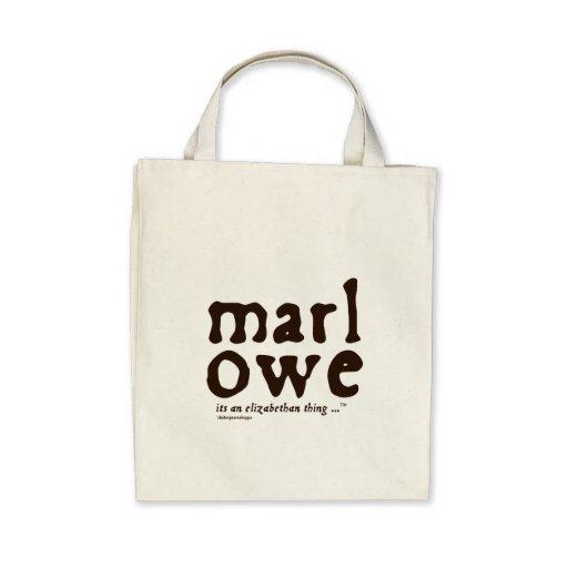Marlowe - es una cosa isabelina bolsas lienzo