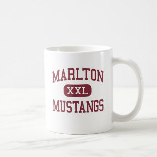 Marlton - Mustangs - Middle - Marlton New Jersey Classic White Coffee Mug