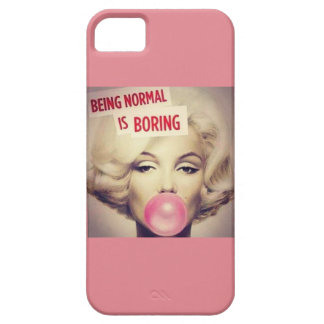 marlyn monroe pink iPhone SE/5/5s case