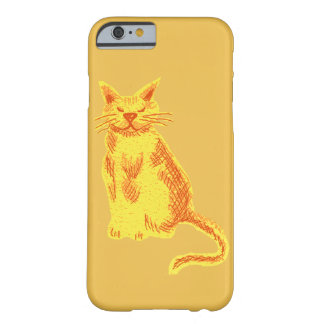 Marmalade cat barely there iPhone 6 case