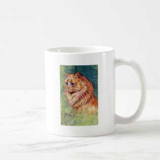 Marmalade Cat with Blue Eyes Classic White Coffee Mug
