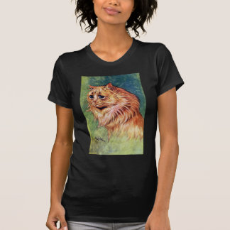 Marmalade Cat with Blue Eyes T-Shirt