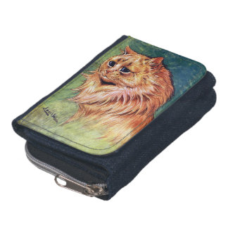 Marmalade Cat with Blue Eyes Wallet