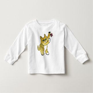 Marmalade Paws  at a Butterfly Toddler T-shirt