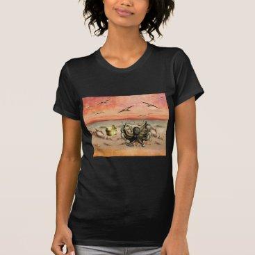 Beach Themed MARMALADE SUNSET AT THE BEACH T-Shirt