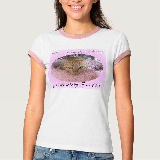 Marmalady Fan Club rescue shirt