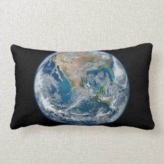 Mármol azul 2015 - tierra, espacio, planetas cojín