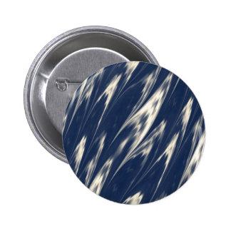 Mármol azul descolorado pin redondo 5 cm