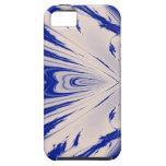 Mármol azul iPhone 5 funda