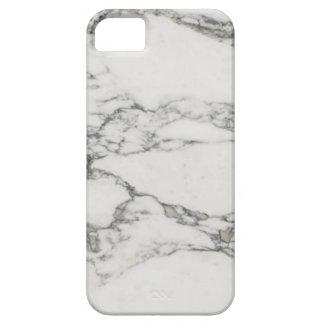 Mármol blanco iPhone 5 carcasa