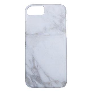 Mármol blanco funda iPhone 7