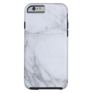 Mármol blanco funda resistente iPhone 6