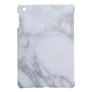 Mármol blanco iPad mini carcasa