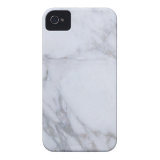 Mármol blanco iPhone 4 Case-Mate protectores