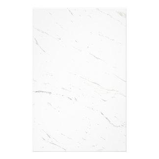 Mármol blanco papelería personalizada