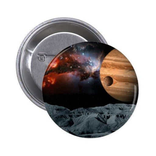 Mármol celestial pin