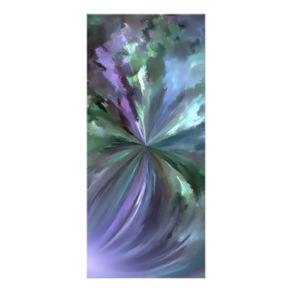 Mármol de cristal brillante azul lona personalizada