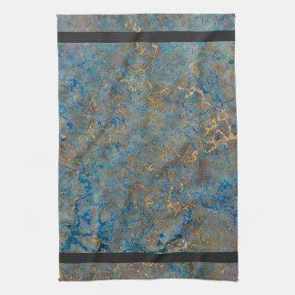 Mármol de lujo del lapislázuli toalla de cocina