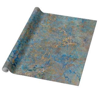Mármol de lujo del lapislázuli papel de regalo