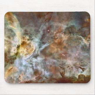 Mármol en colores pastel en la nebulosa de Carina Alfombrilla De Raton