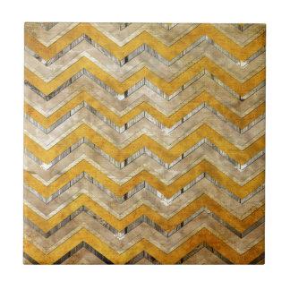 Mármol fresco impresionante de madera de modelo de tejas