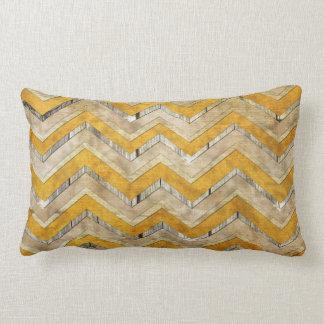 Mármol fresco impresionante de madera de modelo de almohada