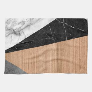 Mármol, Garnite, extracto de madera de la teca Toallas