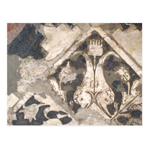 Mármol italiano antiguo arquitectónico elegante tarjetas postales