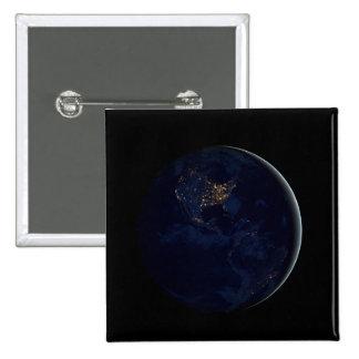 Mármol negro, Américas de mármol azules Pin Cuadrado
