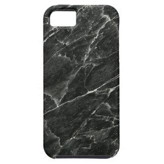 Mármol negro iPhone 5 cobertura