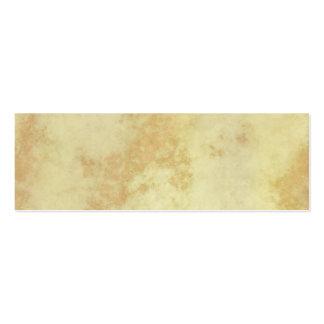 Mármol o granito texturizado tarjeta de visita