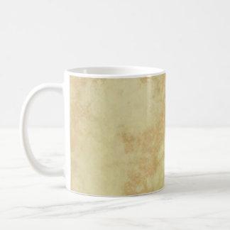 Mármol o granito texturizado taza