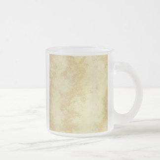 Mármol o granito texturizado taza de café