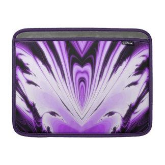 Mármol púrpura y negro 1 funda para macbook air