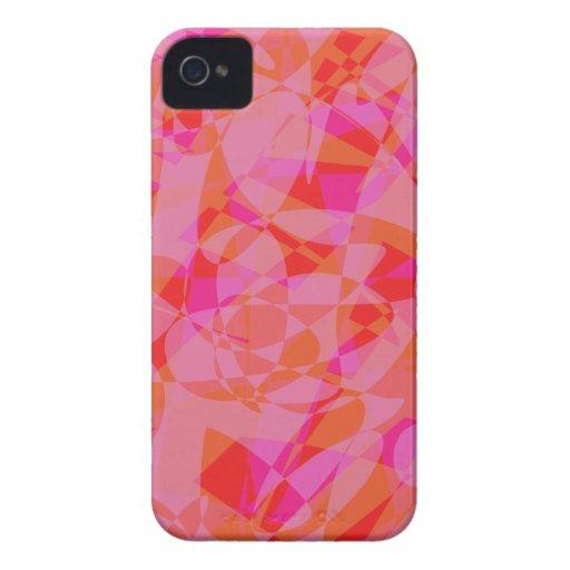 Mármol rojo Case-Mate iPhone 4 protectores